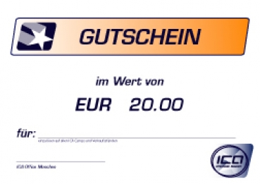 Klingel Gutschein 20 Euro